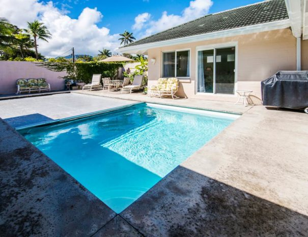 Amazing pictures of Kailua Beach House with a Pool in Oahu, Hawaii