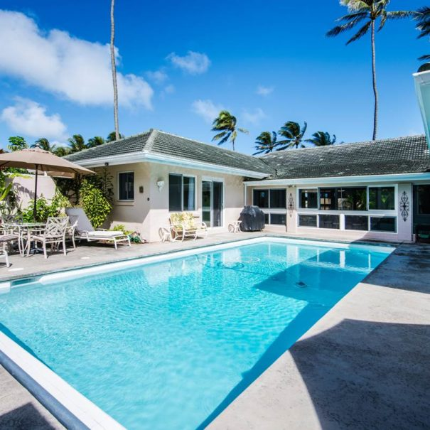 Amazing pictures of Kailua Beach House with Pool in Oahu, Hawaii