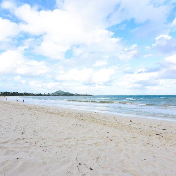 View of Kailua Beach, Oahu