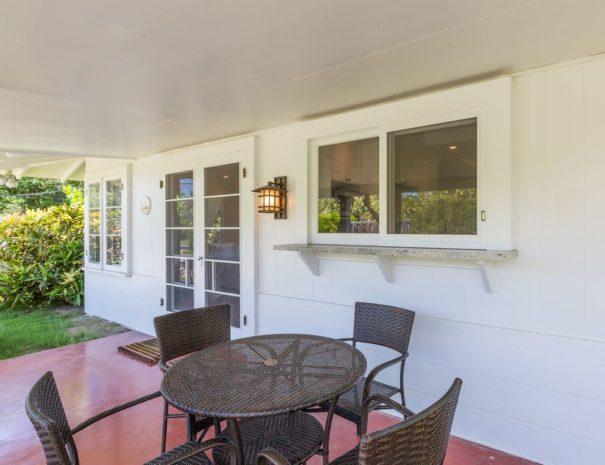 Lanikai Cottage in Lanikai, Oahu for Vacation Home REntal.